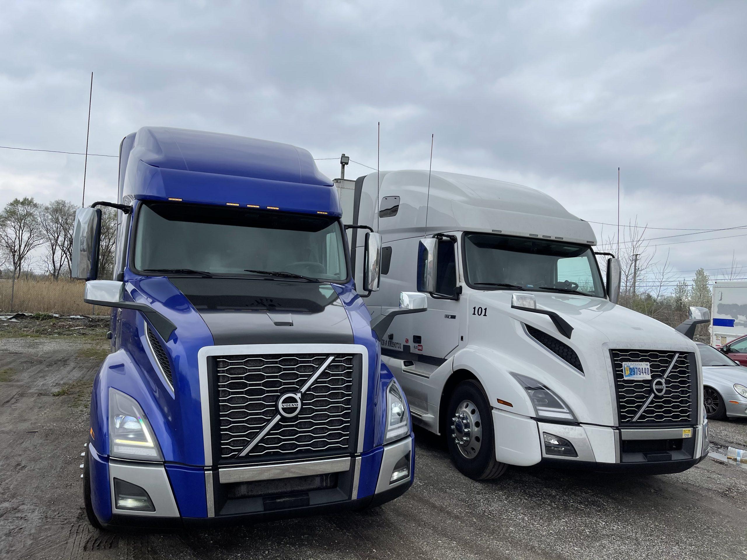 leader group trucking company semi trucks cdl jobs